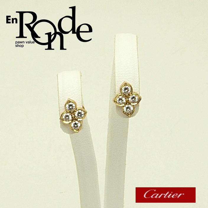 カルティエ Cartier ピアスイヤリング ピアス ヒンドゥ K18/ダイヤ ゴールド 中古 新入荷 おすすめ