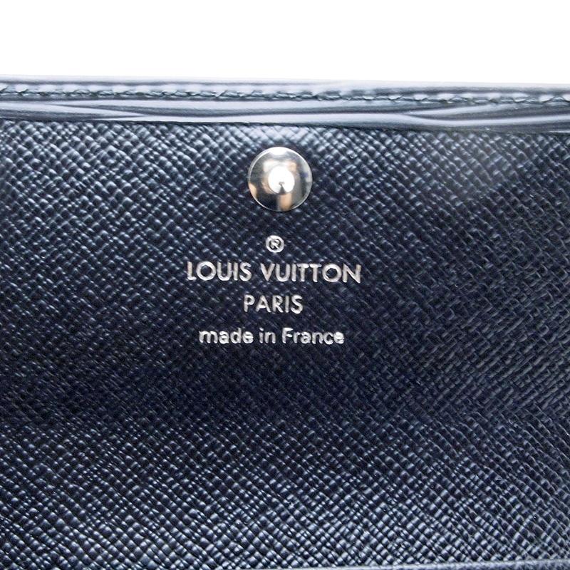 ルイ・ヴィトン LOUISVUITTON エピ キーケース キーケース6本 M63812 カーフ ノワール(黒) 中古