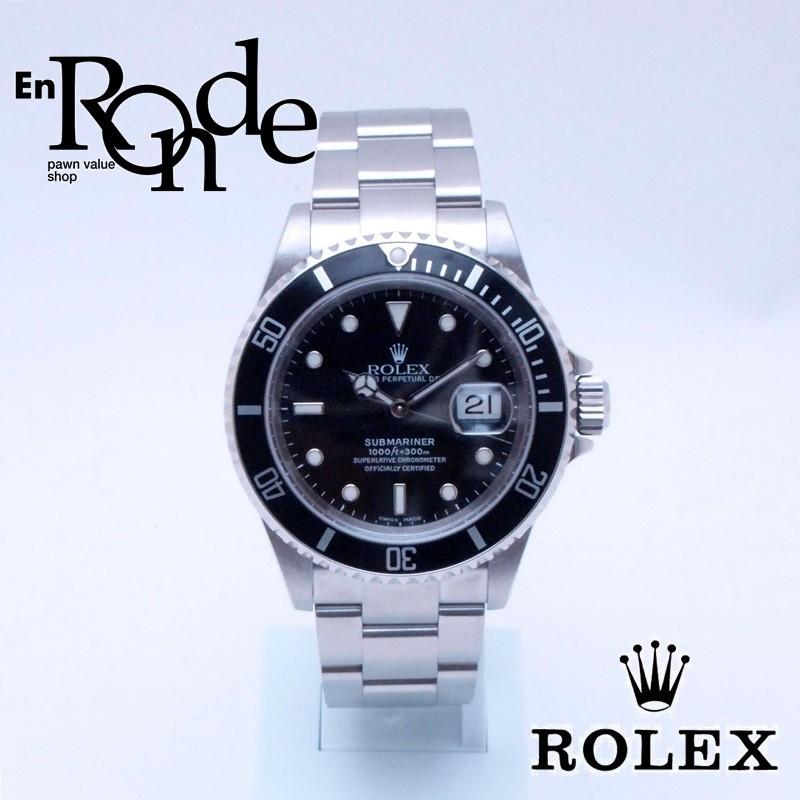 ロレックス ROLEX メンズ腕時計 サブマリーナ 16610 SS(ステンレス) 黒文字盤 中古 おすすめ