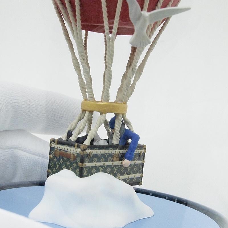 ルイ・ヴィトン LOUISVUITTON 小物アクセサリー スノードーム 気球 2013年ノベルティ 中古