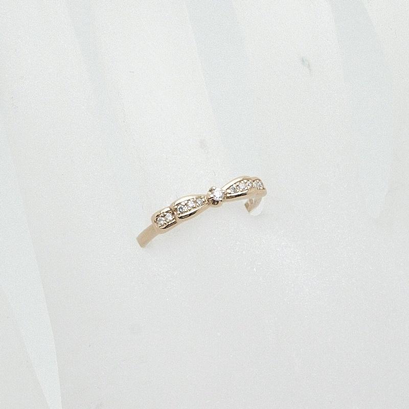 http://指輪リング%204℃%20ダイヤリング%20K18PG(ピンクゴールド)%20中古