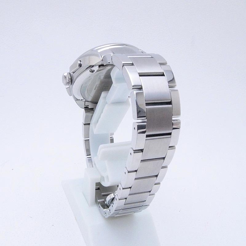 フェンディ メンズ時計 モメント 21200G SS ホワイト文字盤 中古