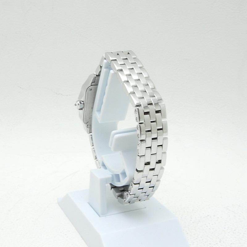 http://カルティエ%20Cartier%20レディース腕時計%20サントスドゥモワゼル%20K18WG/ダイヤ%20アイボリー文字盤%20中古%20新入荷