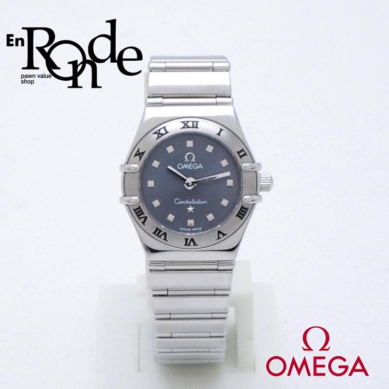 オメガ OMEGA レディース腕時計 コンステレーション マイチョイス SS(ステンレス) グレー文字盤 中古 新入荷