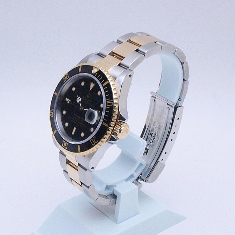 http://ロレックス%20ROLEX%20メンズ腕時計%20サブマリーナ%2016613LN%20SS/YG%20ブラック文字盤%20中古