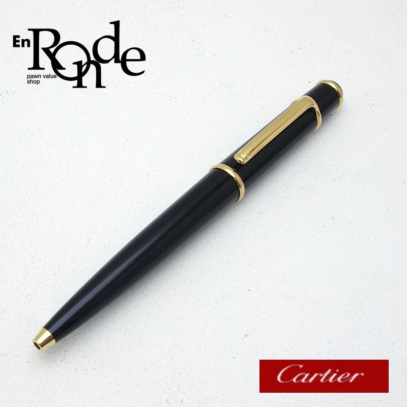カルティエ Cartier 筆記具 ディアボロ ドゥ カルティエ GP ブラック/ゴールド 中古 おすすめ