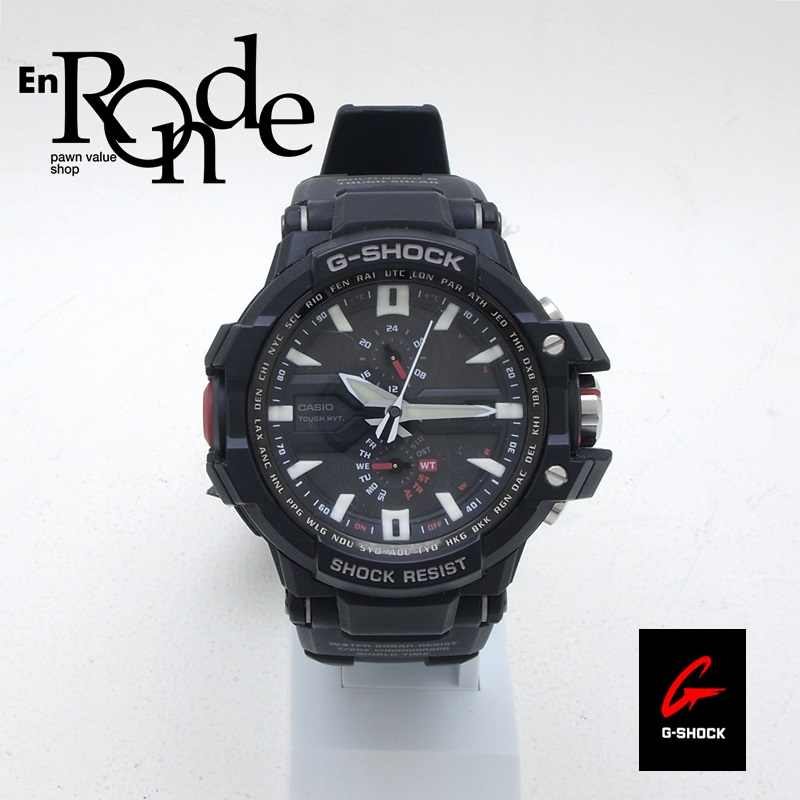カシオ メンズ腕時計 Gショック GW-A1000 SS/ラバー ブラック文字盤 中古 新入荷 おすすめ 新着