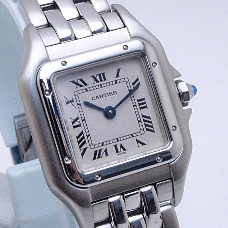 http://カルティエ%20Cartier%20レディース腕時計%20パンテールSM%20SS(ステンレス)%20アイボリー文字盤%20中古%20新入荷%20おすすめ