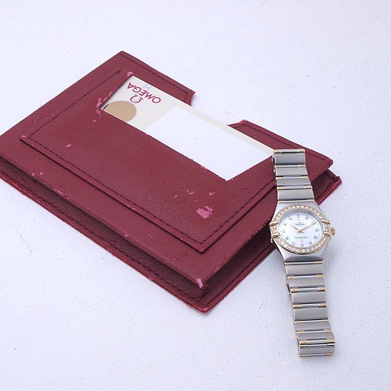 http://オメガ%20OMEGA%20レディース腕時計%20コンステレーションミニ%20SS/YG%20シェル文字盤%20中古%20新入荷%20おすすめ