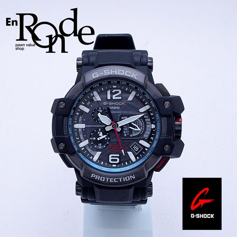 カシオ メンズ腕時計 Gショック グラヴィティマスター GPW-1000 SS/ラバー ブラック文字盤 中古 新入荷 おすすめ
