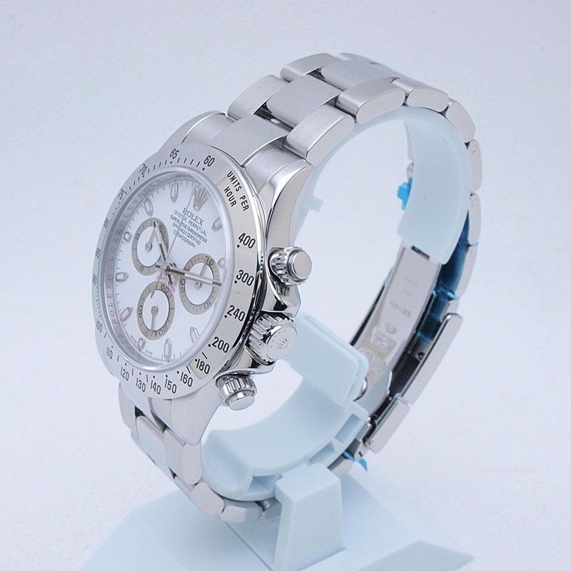 http://ロレックス%20ROLEX%20メンズ腕時計%20デイトナ%20116520%20SS(ステンレス)%20ホワイト文字盤%20中古%20新入荷%20おすすめ