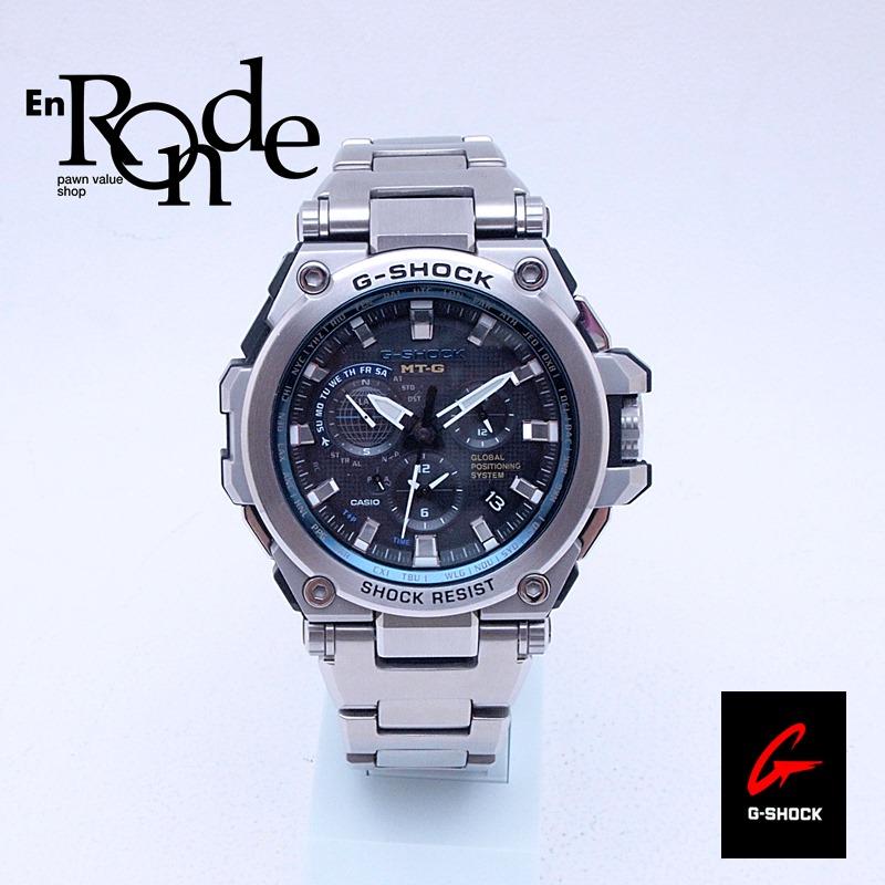 カシオ メンズ腕時計 Gショック MTG-G1000 SS/樹脂 ブラック文字盤 中古 新入荷 おすすめ