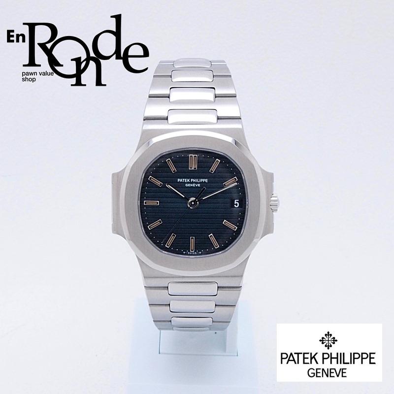 パテックフィリップ メンズ腕時計 パテックフィリップ ノーチラス 3800/1A-010 SS ブルー文字盤 中古 新入荷 おすすめ