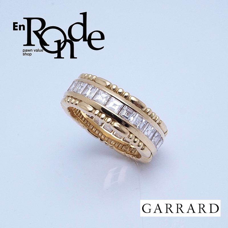 ガラード 指輪リング  ONE ONE TWOリング K18/ダイヤ ゴールド 中古 新入荷 おすすめ