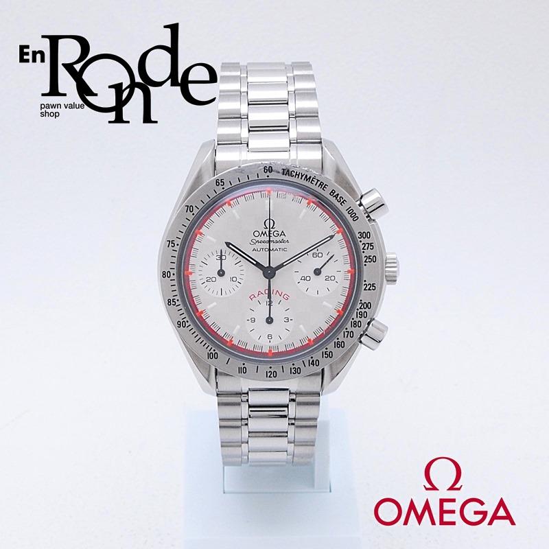 オメガ OMEGA メンズ腕時計 スピードマスター レーシングシューマッハモデル 3517-30 SS(ステンレス) シルバー文字盤 中古 新入荷