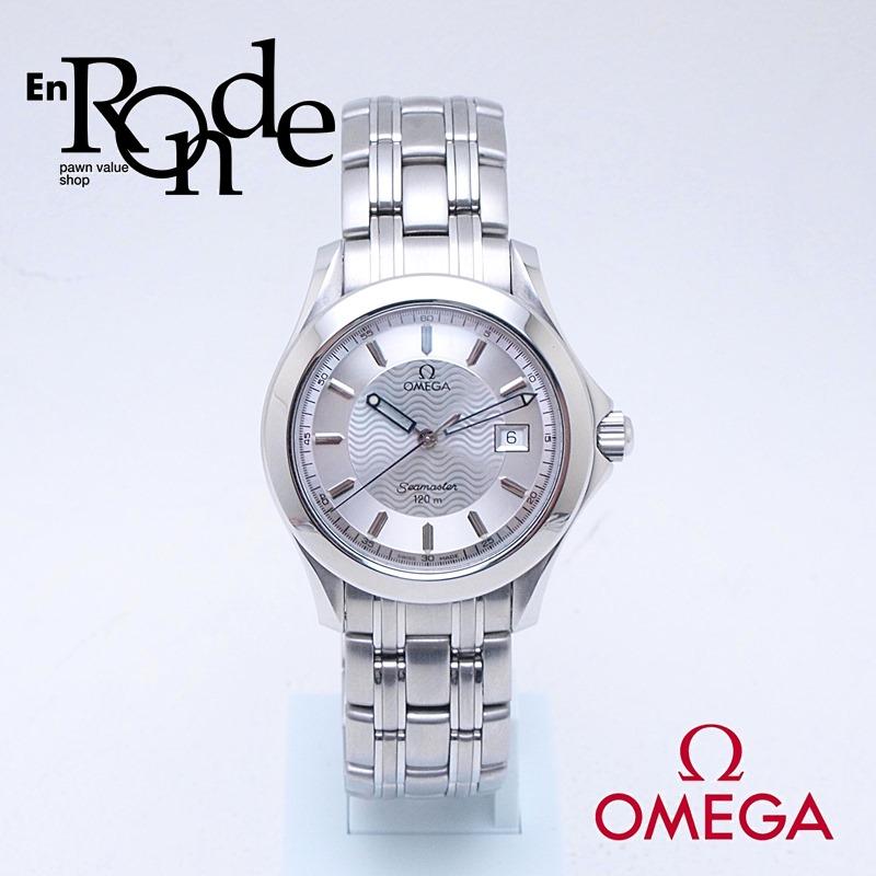 オメガ OMEGA メンズ腕時計 シーマスター120 SS シルバー文字盤 中古 新入荷