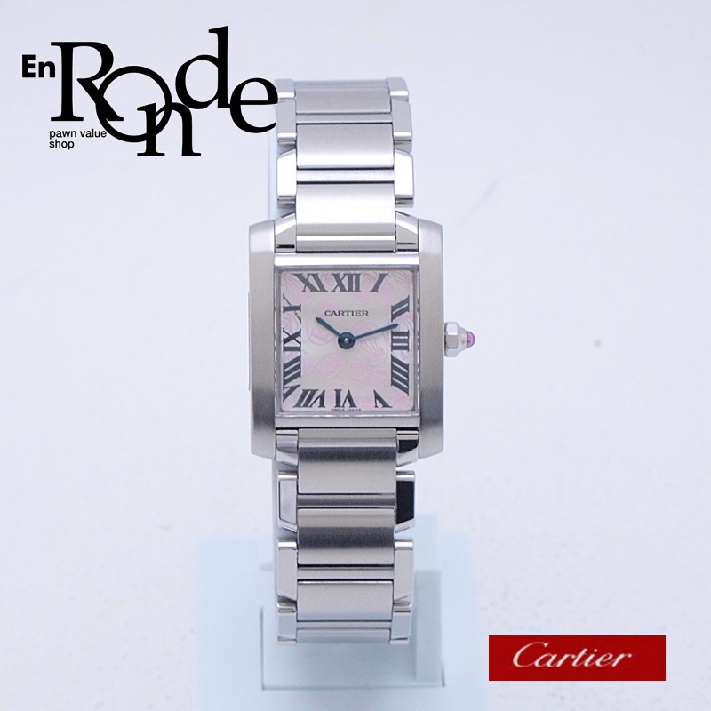 カルティエ Cartier レディース腕時計 タンクフランセーズSM SS(ステンレス) シルバー文字盤 中古 新入荷 おすすめ
