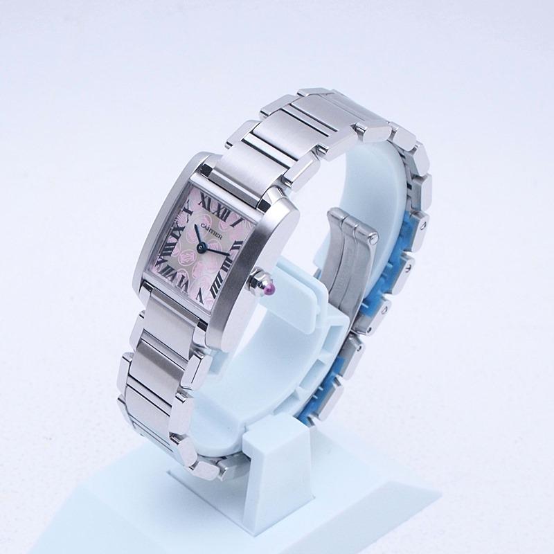 http://カルティエ%20Cartier%20レディース腕時計%20タンクフランセーズSM%20SS(ステンレス)%20シルバー文字盤%20中古%20新入荷%20おすすめ