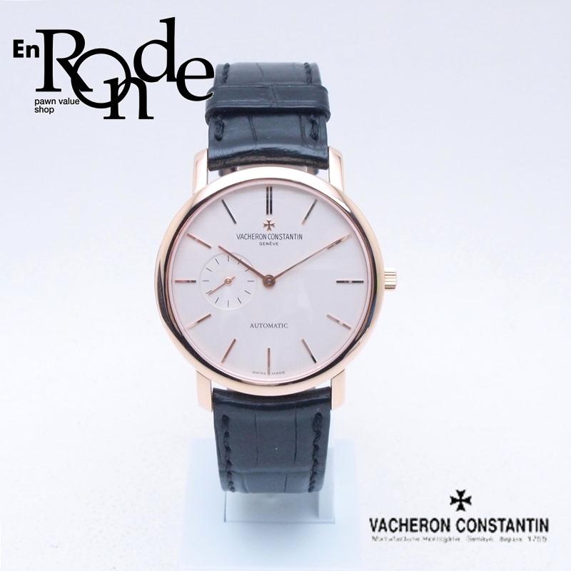 ヴァシュロンコンスタンタン  メンズ腕時計 パトリモニークラシック 87170/000R PG/革 ホワイト文字盤 中古 新入荷 おすすめ