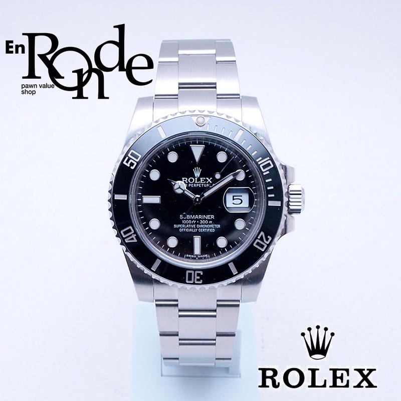 ロレックス ROLEX メンズ腕時計 サブマリーナ 116610LN SS ブラック文字盤 中古 新入荷 おすすめ