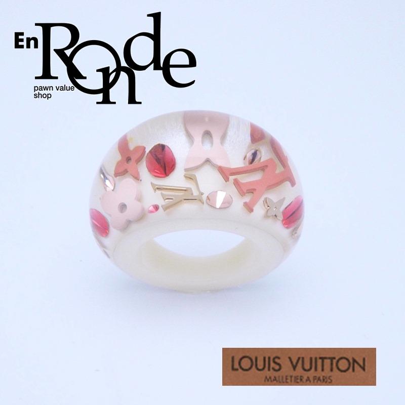 ルイ・ヴィトン LOUISVUITTON 指輪リング リング バーグアンクルージョン ホワイト 中古