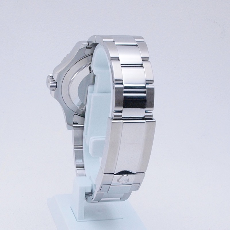 http://ロレックス%20ROLEX%20メンズ腕時計%20ヨットマスター%20116622%20SS/Pt%20ブルー文字盤%20中古