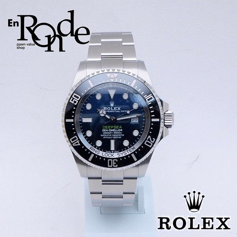 ロレックス ROLEX メンズ腕時計 シードウェラー ディープシー Dブルー 126660 SS(ステンレス) ブルー文字盤 中古