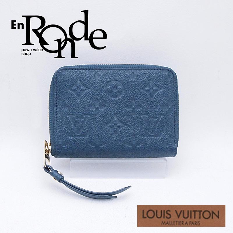 ルイ・ヴィトン LOUISVUITTON モノグラム 二つ折財布 スクレットコンパクト M93430 アンプラント オラージュ 中古