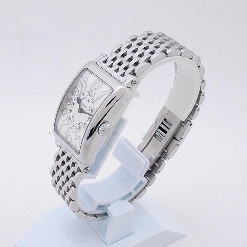http://フランクミュラー%20レディース腕時計%20ロングアイランド%20902QzREL%20SS(ステンレス)%20シルバー文字盤%20中古