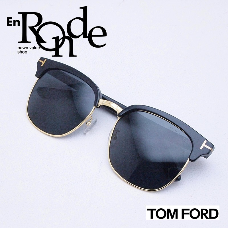 トムフォード サングラスサングラス TF544-K プラスチック ブラック系レンズ 中古