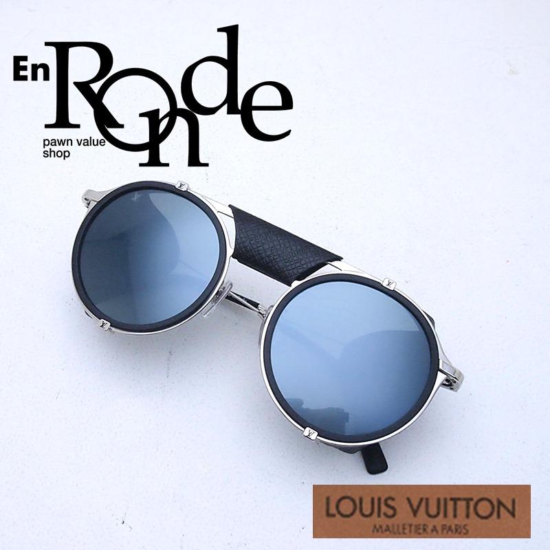 ルイ・ヴィトン LOUISVUITTON サングラス サングラス ダミエシャッフル Z1076E プラスチック グレー系レンズ 中古