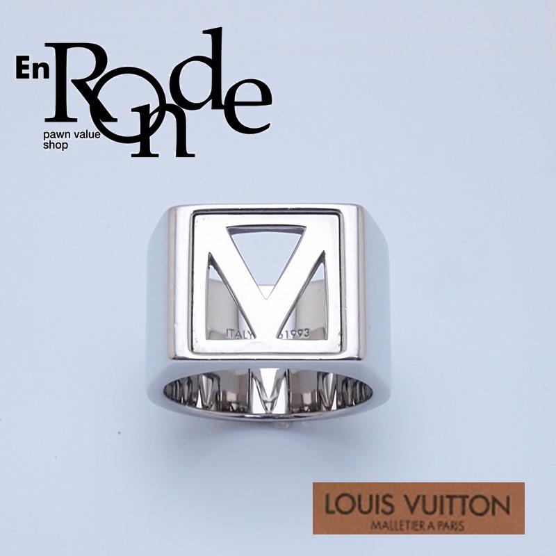 ルイ・ヴィトン LOUISVUITTON 指輪リング メンズリング M61993 シルバー色 中古