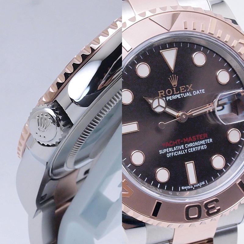 http://ロレックス%20ROLEX%20メンズ腕時計%20ヨットマスター%20116621%20SS/PG%20ブラウン文字盤%20中古