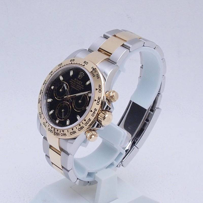 http://ロレックス%20ROLEX%20メンズ腕時計%20デイトナ%20116503%20SS/YG%20ブラック文字盤%20新品同様