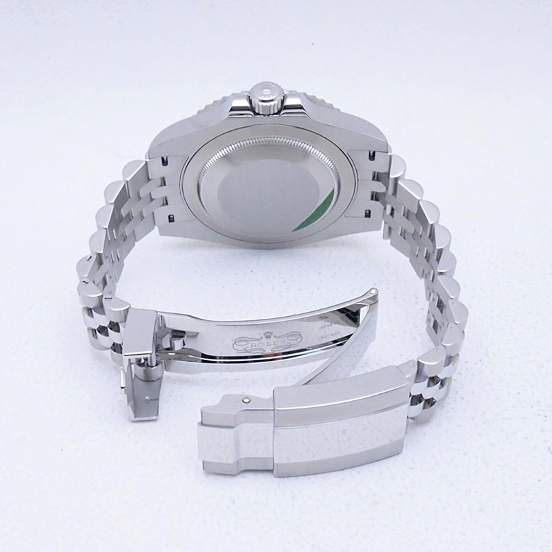 http://ロレックス%20ROLEX%20メンズ腕時計%20GMTマスターII ジュビリーブレスレット%20126710BLNR%20SS%20ブラック文字盤%20新品同様