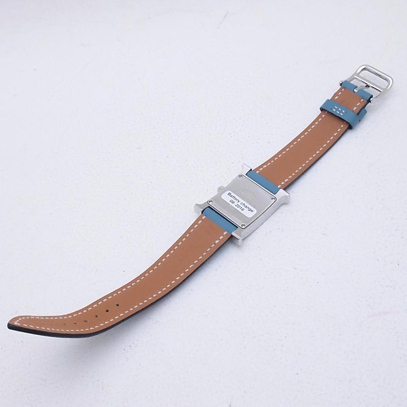 http://エルメス%20HERMES%20レディース腕時計%20Hウォッチ%20HH1-210%20SS(ステンレス)/革%20ホワイト文字盤%20中古