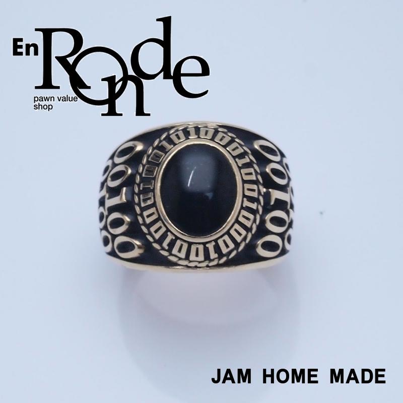 ジャスティン 指輪リング リング JAM HOME MADE 18K ゴールド/ブラック 中古
